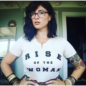 The LB Brand RISE OF THE WOMAN Tee